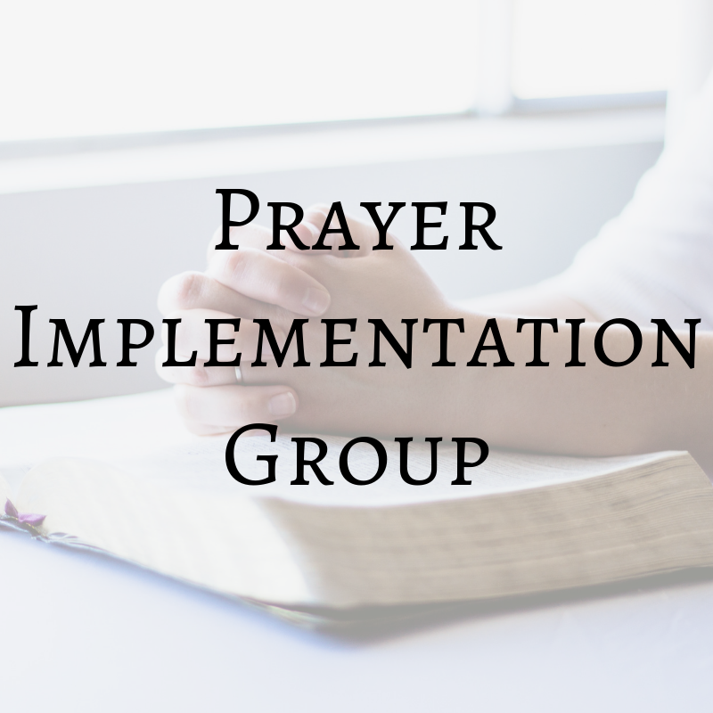 PrayerImplementationGroup