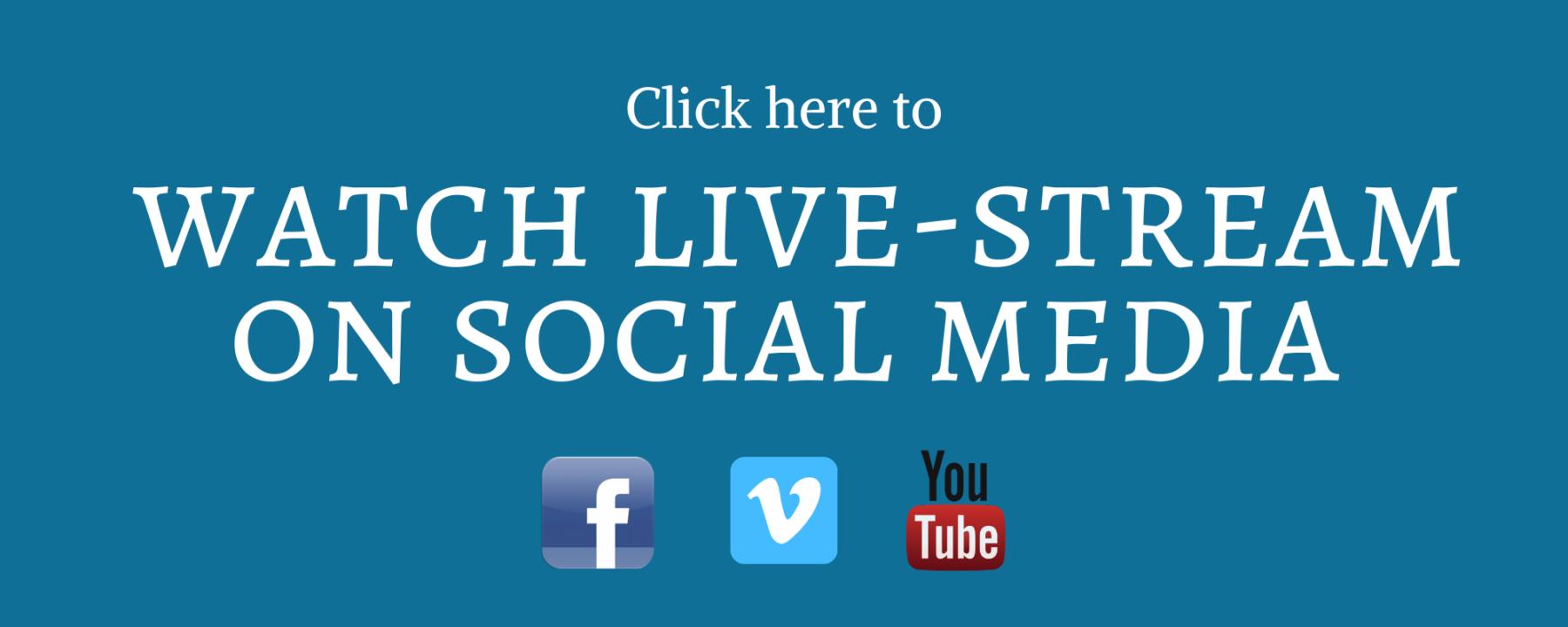 2020-0320 Livestream banner