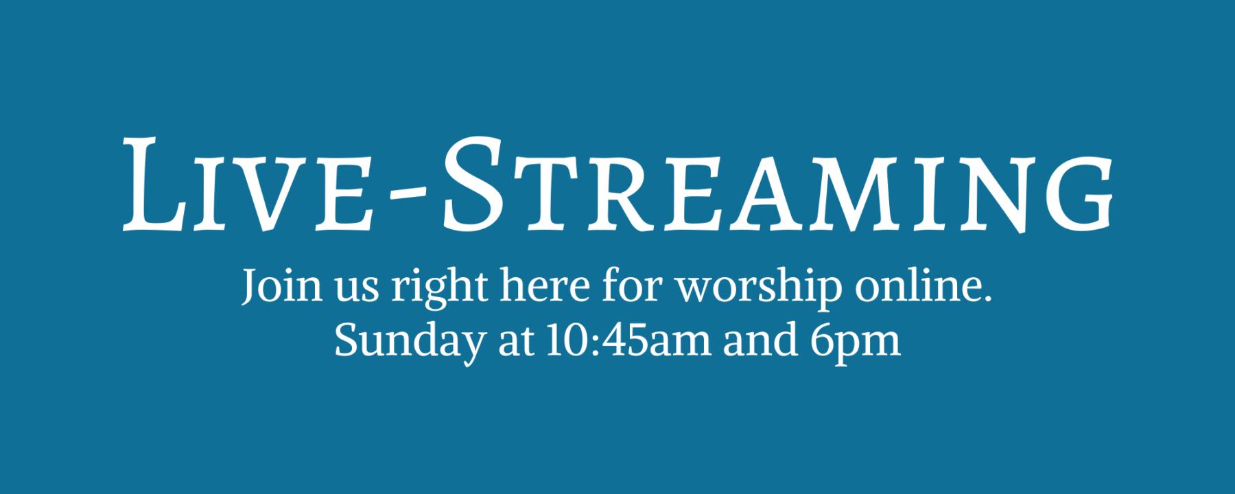 2020-0320 Livestream main banner